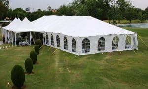 white wedding tents for rent Austin