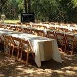 table chair rentals