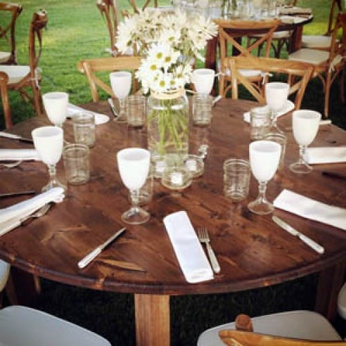 round rental tables