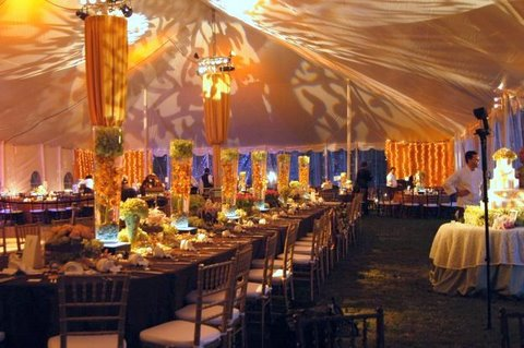 tablecloth rentals for weddings Austin