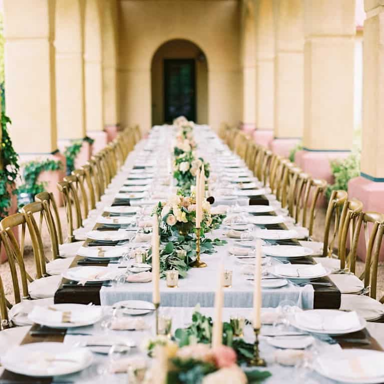 rent table linens for wedding reception Austin