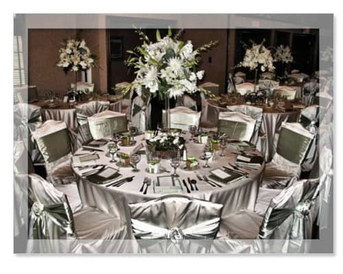 wedding table linen rentals Austin