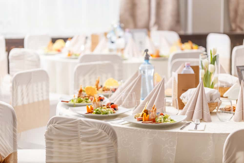table linen rentals for weddings Austin