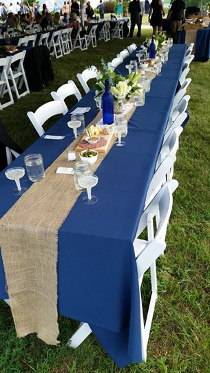 rent wedding table linens Austin